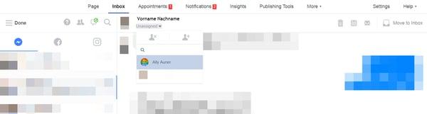 Social Media Customer Service Nachrichten verwalten