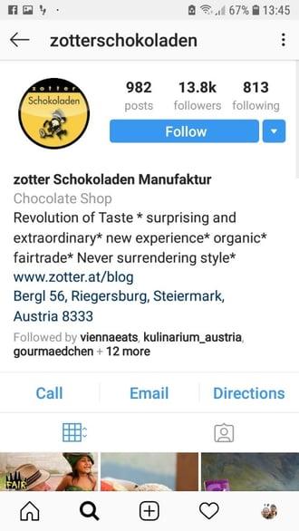 Customer Service per Social Media bei Zotter