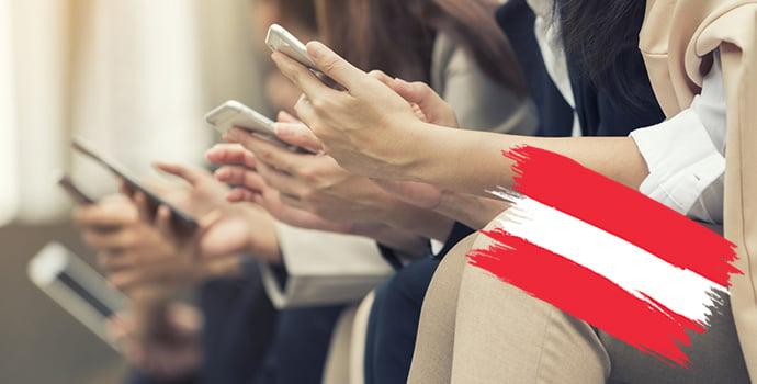 Smartphone Nutzung in Österreich 2018